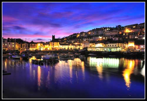 Brixham Harbour Sunset
