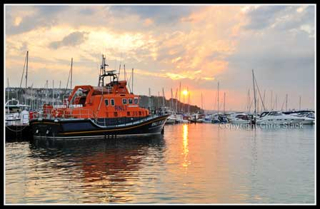 Torbay Lifeboat Sunset